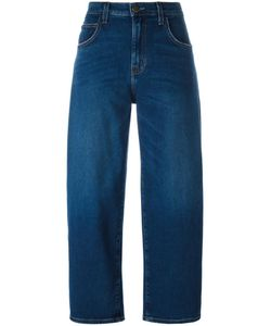 Current/Elliott | The Barrel Cropped Jeans 28 Cotton/Spandex/Elastane