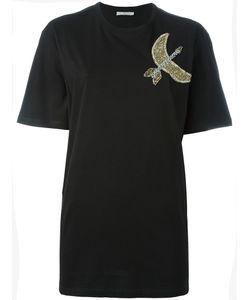 Amen | Beaded Detail T-Shirt 42 Cotton/Glass