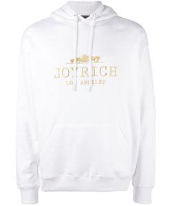 Joyrich | Embroidered Logo Hoodie Adult Unisex Medium Cotton