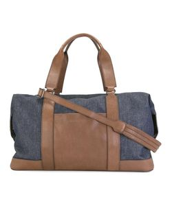 Brunello Cucinelli | Denim Holdall Cotton/Leather