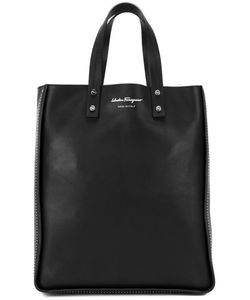 Salvatore Ferragamo | Rectangular Shopping Tote Bag Calf Leather