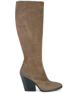 A.F.Vandevorst | Chunky Heel Boots 37 Goat Skin/Leather