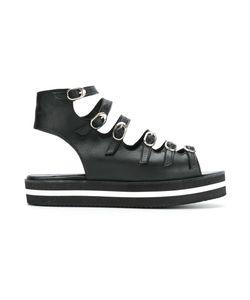 Manolita | Strappy Sandals 36 Aligator Leather
