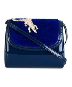 Amelie Pichard | Amélie Pichard Crocodile Detail Shoulder Bag