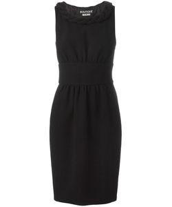 BOUTIQUE MOSCHINO | Fitted Dress 48 Virgin Wool/Acetate/Rayon