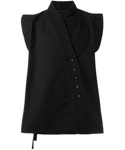 ALCHEMY | Off Centre Fastening Waistcoat Large Cotton/Polyester