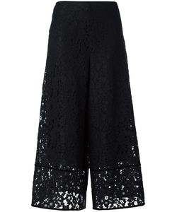 See By Chloe | See By Chloé Embroidered Lace Flared Trousers 36