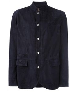 Brunello Cucinelli | Flap Pocket Jacket Large Leather/Cupro
