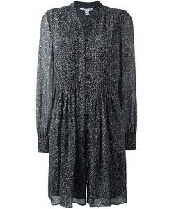 Diane Von Furstenberg | Printed Shirt Dress 12 Silk/Polyester
