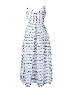 ALEX PERRY | Spencer Dress 6 Cotton/Polyamide/Polyester