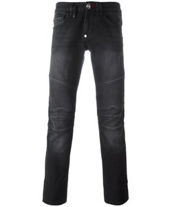 Philipp Plein | Biker Straight Jeans 32 Cotton