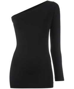 Helmut Lang | One Shoulder Top Small Nylon/Spandex/Elastane