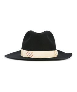 Borsalino | Strap Detail Fedora Hat 60 Rabbit Fur