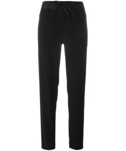 DKNY | Drawstring Track Pants Large Polyester/Triacetate