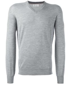 Brunello Cucinelli | V-Neck Jumper 52 Cashmere/Wool