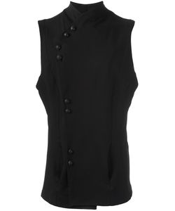 ALCHEMY | Buttoned Tank Top Small Cotton/Polyester