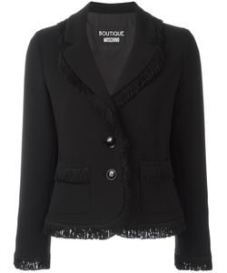 BOUTIQUE MOSCHINO | Two Button Blazer 44 Triacetate/Polyester/Acetate/Rayon