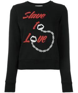 Yazbukey | Slave To Love Sweatshirt Large Cotton/Polyester