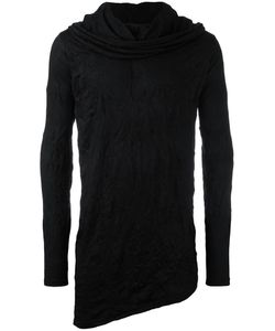 ALCHEMY | Roll Neck Sweatshirt Large Cotton/Spandex/Elastane