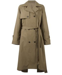 SYSTEM | Classic Trench Coat Small Cotton/Nylon/Polyester