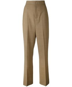 Marni | High Waisted Trousers 40 Virgin Wool/Cupro