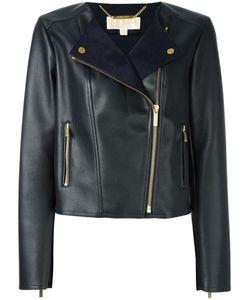 Michael Michael Kors | Classic Biker Jacket Small Polyester/Polyurethane