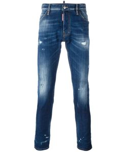 Dsquared2 | Cool Guy Lightly Distressed Jeans 44 Cotton/Spandex/Elastane