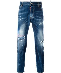 Dsquared2 | Classic Kenny Twist Distressed Jeans 56 Cotton/Spandex/Elastane/Polyester