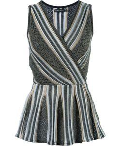 CECILIA PRADO | Knit Peplum Top P Acrylic/Polyester/Viscose
