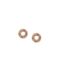 Carolina Bucci | Large Pavé Ring Earrings