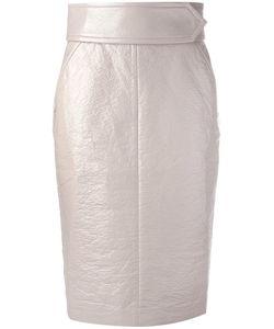 Dorothee Schumacher | Glossy Seduction Skirt 3 Acetate/Viscose/Cotton/Polyurethane