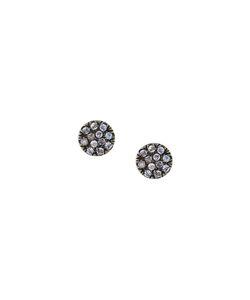 Carolina Bucci | Large Pavé Coin Earrings