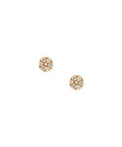 Carolina Bucci | Small Pavé Coin Earrings
