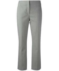 Dorothee Schumacher | Delicate Fantasy Cropped Trousers 1 Cotton/Spandex/Elastane/Acetate/Viscose