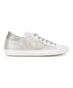 Philippe Model | Lace-Up Sneakers 40 Leather/Rubber/Cotton