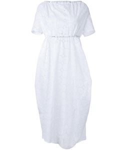 ASSIN | Macramé Mid Dress Small Cotton