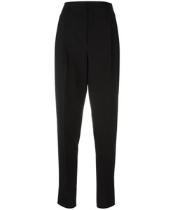 Saint Laurent | Tapered Tailored Trousers 36 Virgin Wool/Cotton