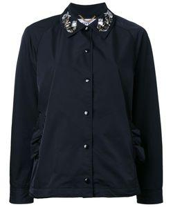 Muveil | Embellished Collar Jacket 40 Polyester