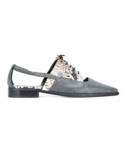 Dorothee Schumacher | Exotic Chic Cut-Out Oxford 38.5 Goat