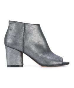 Maison Margiela | Open Toe Ankle Boots 39 Leather
