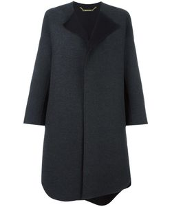 SYSTEM | Single Breasted Coat Small Acrylic/Polyester/Polyurethane/Wool