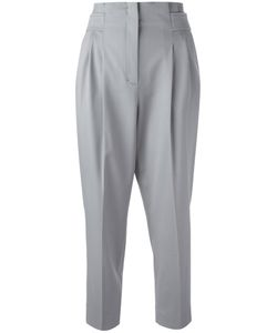 Dorothee Schumacher | High Waisted Cropped Pants 4 Cotton/Virgin