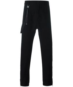Helmut Lang | Strap Detail Trousers 31 Cotton/Cashmere