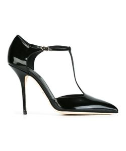 Dolce & Gabbana | Varnished T-Bar Pumps 36 Calf