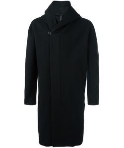ATTACHMENT | Hoodie-Detail Overcoat 3 Wool/Cashmere/Polyurethane/Cupro