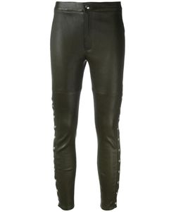 Iro | Sabrina Trousers 36 Lamb Nubuck Leather