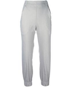 Zero + Maria Cornejo | Eka Trousers 4 Linen/Flax/Viscose/Spandex/Elastane