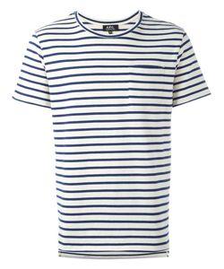 A.P.C.   Striped T-Shirt Large Cotton