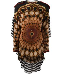 Givenchy | Kaleido Eye Printed Top 34 Silk/Wool/Viscose