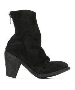 GUIDI | Reverse High Heel Boots 36 Horse Leather/Leather